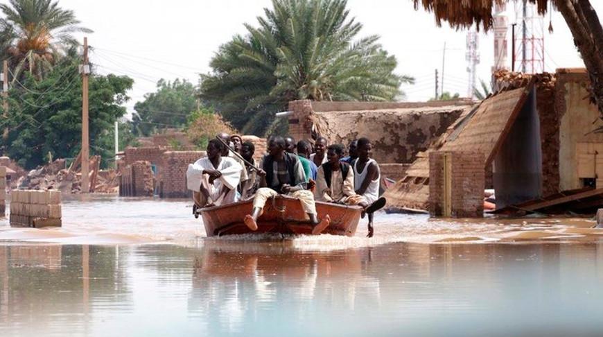 Режим ЧП введен в Судане из-за наводнений