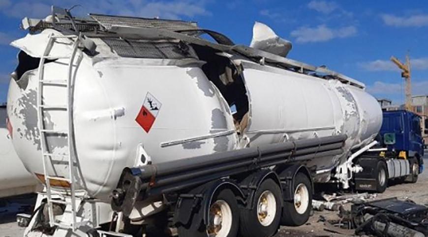 В Киеве взорвалась цистерна для перевозки газа