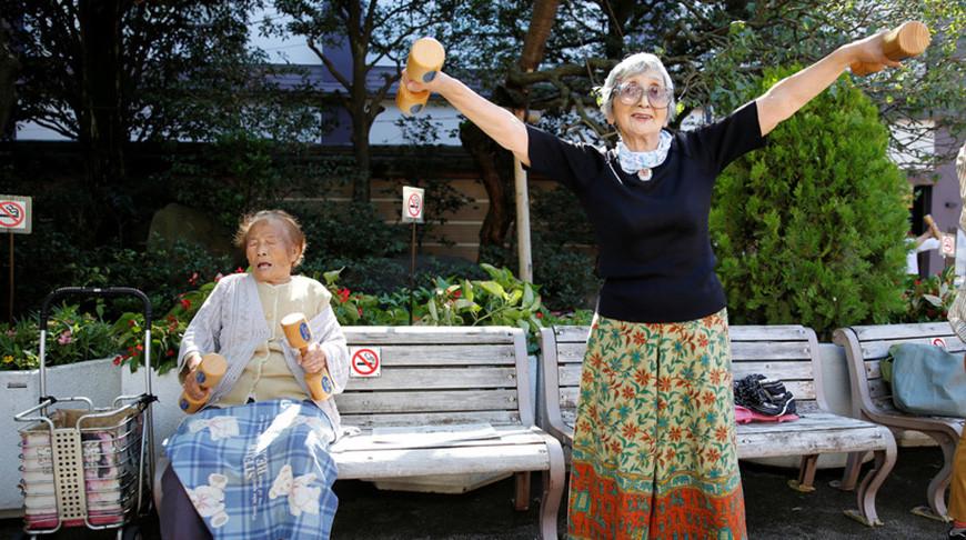В Японии число жителей старше 100 лет превысило 80 тыс.