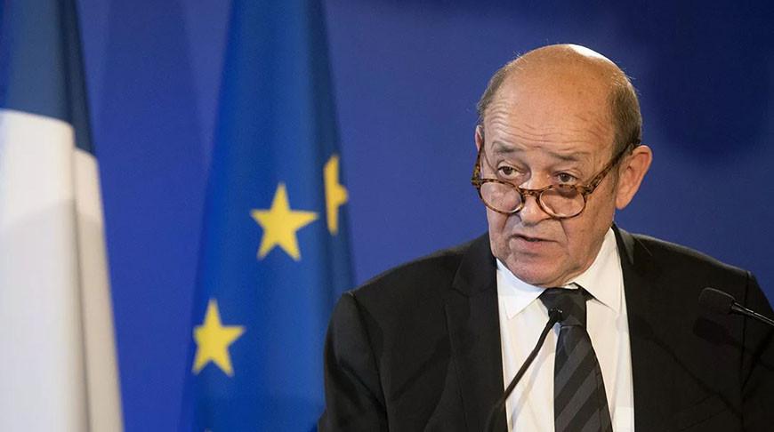 Глава МИД Франции Жан-Ив Ле Дриан. Фото РИА Новости