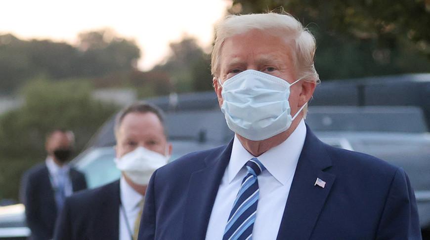 У Трампа обнаружены антитела к коронавирусу