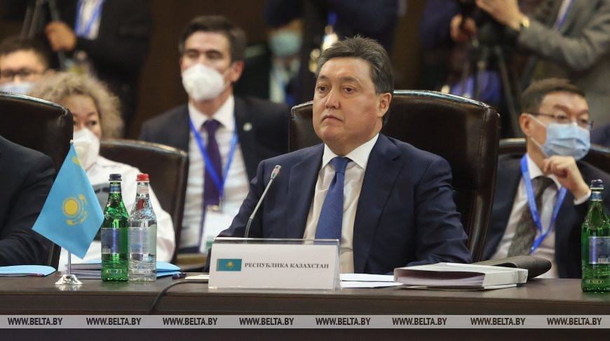 ЕАЭС может стать торговым хабом между Европой и Азией - премьер Казахстана