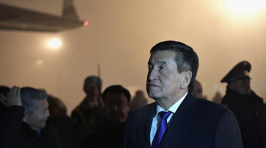 Президент Кыргызстана: страна находится 'у черты опасности'