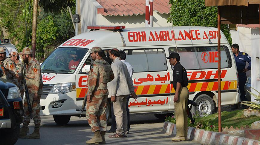 Взрыв в городе Кабул: есть жертвы