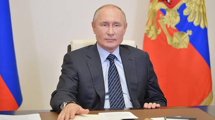 Владимир Путин. Фото пресс-службы президента РФ