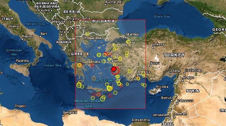 Фото Европейско-средиземноморского сейсмологического центра