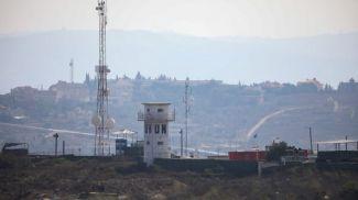 База миротворцев на границе Израиля и Ливана. Фото Flash90