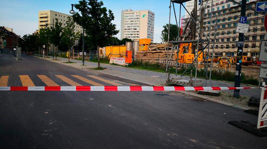 Фото из Twitter-аккаунта Polizei Berlin Einsatz