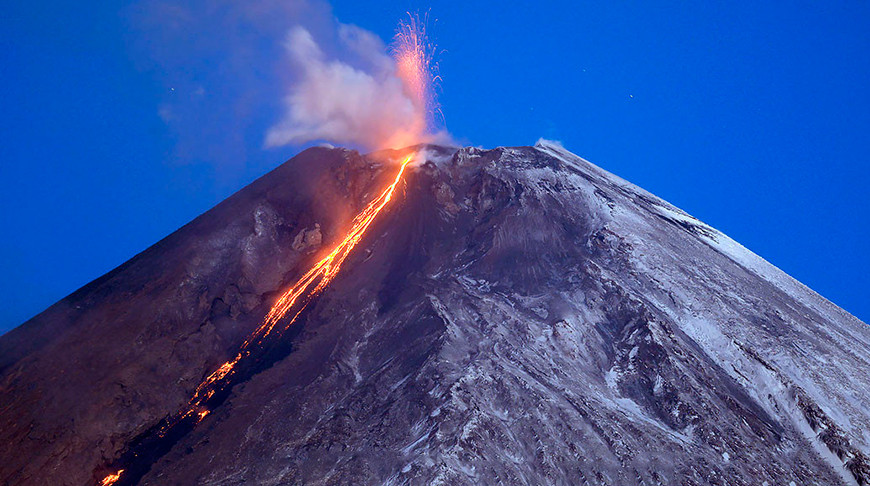 Фото Института вулканологии и сейсмологии ДВО РАН