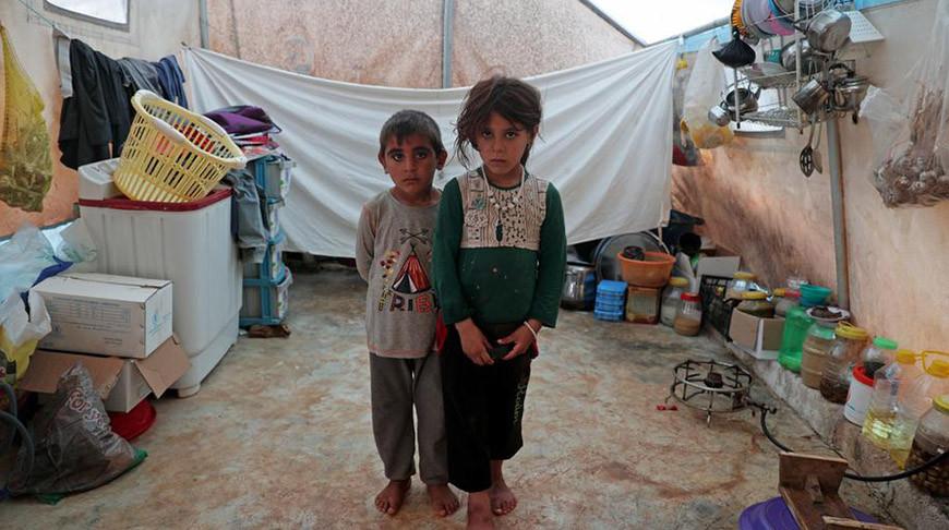 Сирийские беженцы. Фото  Reuters