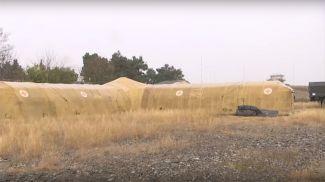 Скриншот из видео Минобороны России