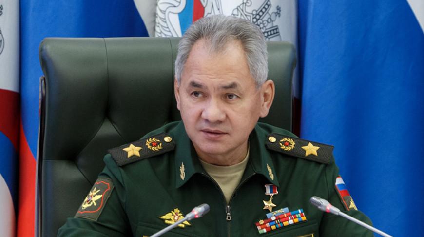 Сергей Шойгу. Фото из архива Минобороны России