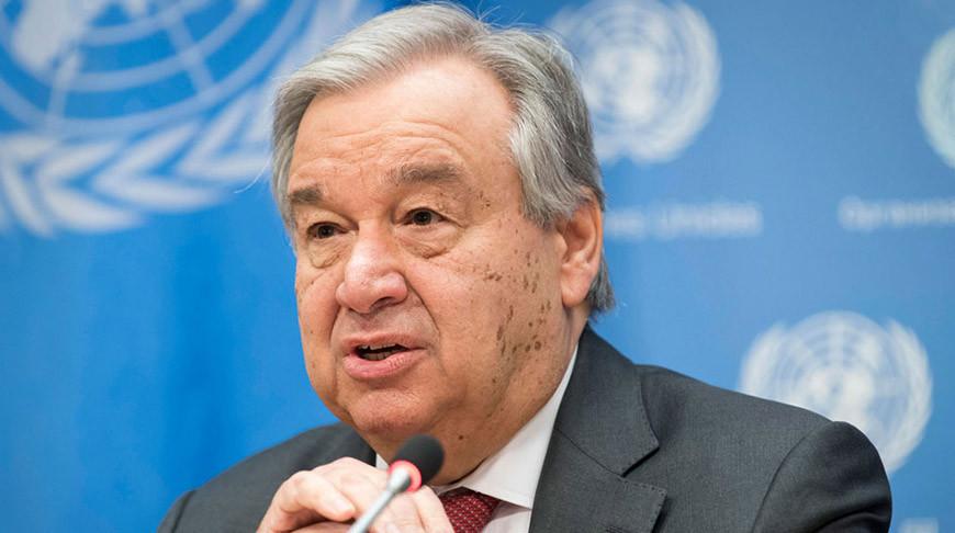 Антониу Гутерриш. Фото ООН