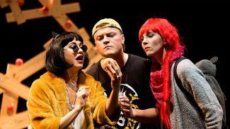 Сцена из спектакля. Фото Купаловского театра