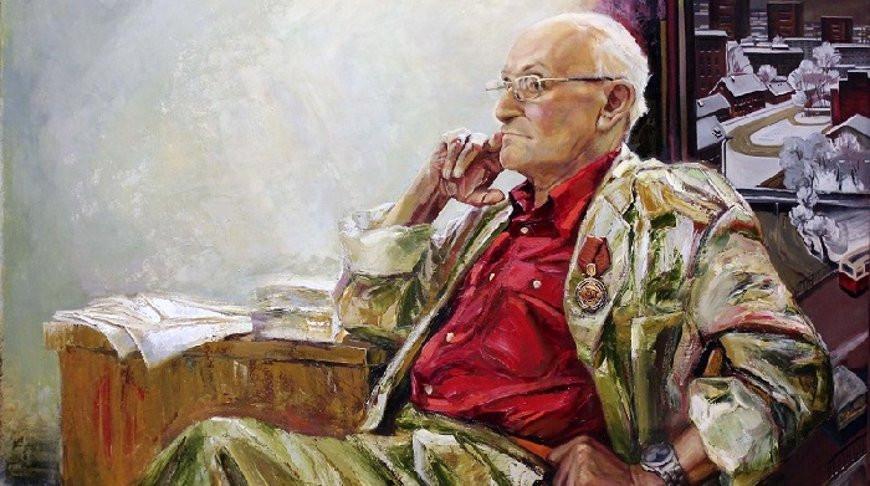 Фрагмент портрета Мая Данцига. Автор Сергей Игнатенко