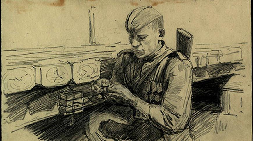 """Выставка """"Фронтовой портрет. Судьба солдата"""" открылась в Музее обороны Брестской крепости"""