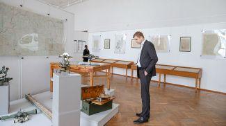 Директор музея Павел Сапотько