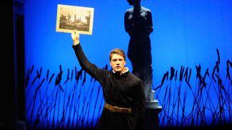 "Сцена из спектакля ""Пан Тадеуш"" Купаловского театра. Фото из архива"