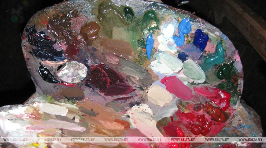 Выставка живописи Владимира Исаченко демонстрируется в Национальной библиотеке