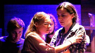 Сцена из спектакля. Фото Полесского драмтеатра