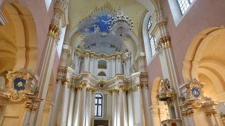В Софийском соборе. Фото из архива