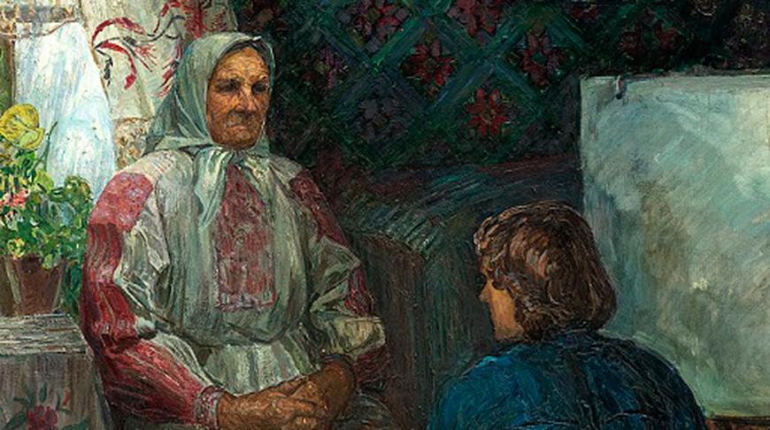 Фрагмент картины Владимира Сулковского