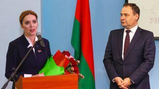 Наталья Карчевская и Роман Головченко