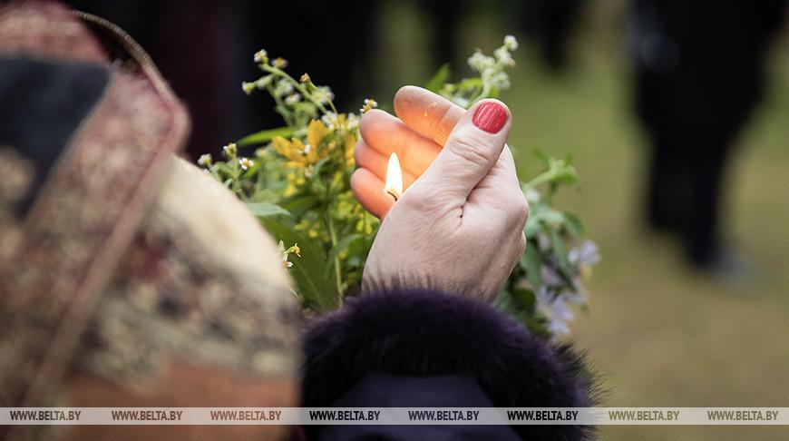 Во время похорон Михаила Дриневского