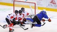 Хоккеисты Украины победили швейцарцев на старте XVI Рождественского турнира в Минске