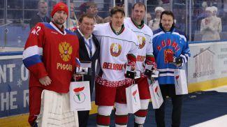 Председатель Президентского спортивного клуба Дмитрий Лукашенко вручил награды лучшим игрокам