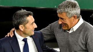 Эрнесто Вальверде и Кике Сетьен. Фото ua-football.com