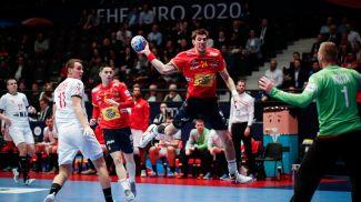 Во время матча. Фото EHF