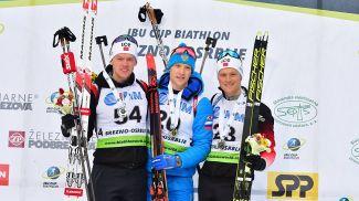 Сиверт Гутторм Баккен, Семен Сучилов и Эндре Стремсхейм. Фото IBU