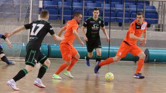 Во время матча. Фото Белорусской ассоциации мини-футбола