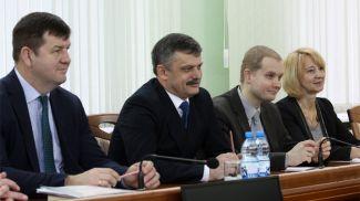 Во время встречи. Фото Министерства спорта и туризма