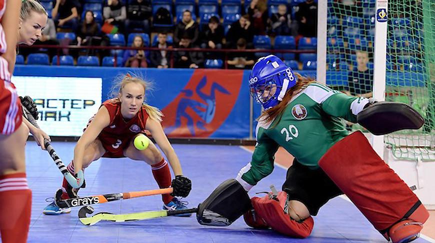 Во время матча. Фото Европейской федерации хоккея на траве