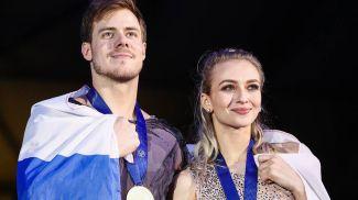 Никита Кацалапов и Виктория Синицына. Фото ТАСС