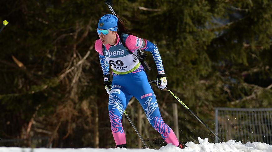 Российская биатлонистка Ульяна Кайшева выиграла спринт на ...
