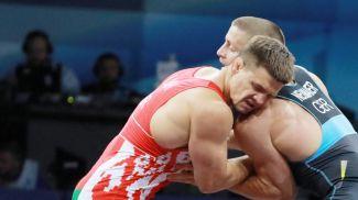 Павел Лях во время соревнований. Фото из архива