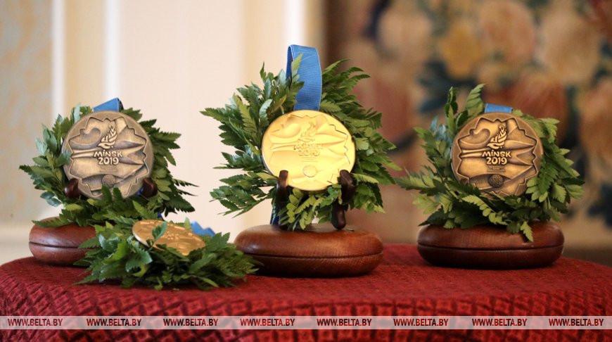 Медали II Европейских игр. Фото из архива