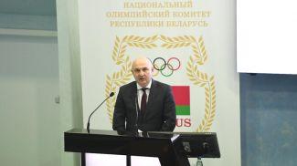 Вячеслав Бержец. Фото НОК Беларуси