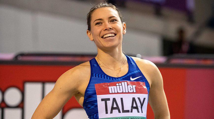 Алина Талай. Фото World Athletics