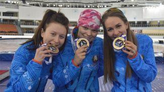 Фото Белорусского союза конькобежцев