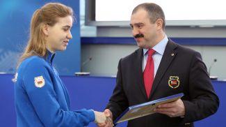 Юлия Ковалевская и Виктор Лукашенко