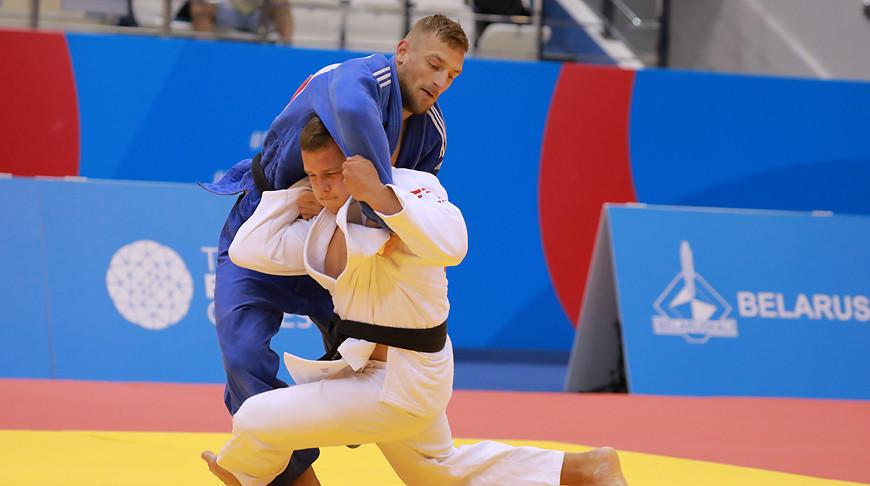 Егор Воропаев (в синей дзюдоке). Фото из архива