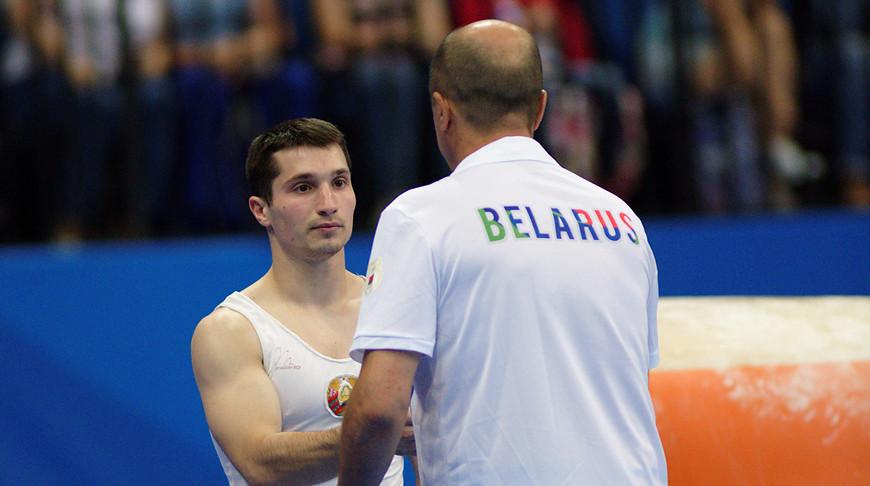 Егор Шрамков. Фото из архива Белорусской ассоциации гимнастики