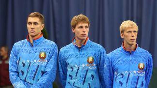 Егор Герасимов, Илья Ивашко и Андрей Василевский. Фото из архива