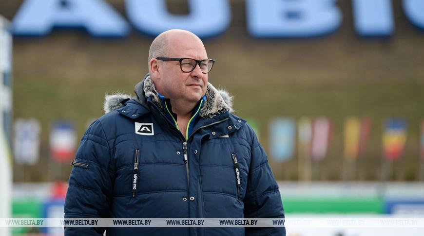 Никлас Карлссон во время церемонии открытия