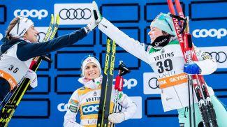 Эбба Андерссон, Тереза Йохауг и Криста Пармакоски. Фото NordicFocus