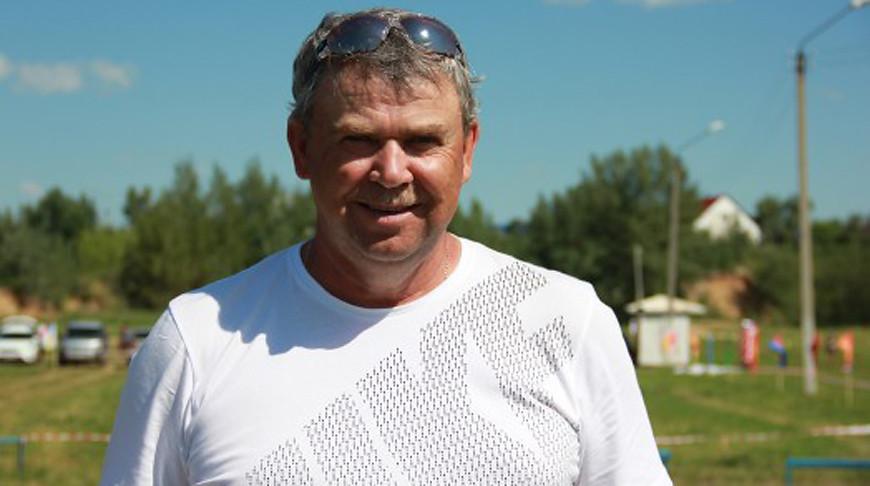 Николай Выдрин. Фото Союза биатлонистов Казахстана